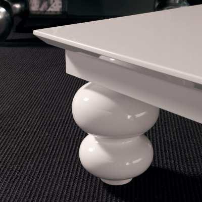 Coffee table double onion leg