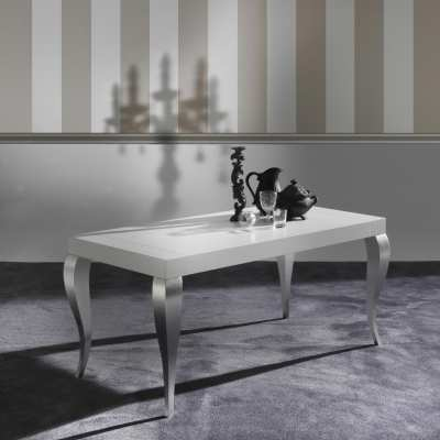 Modern extendable Table Timoteo closed