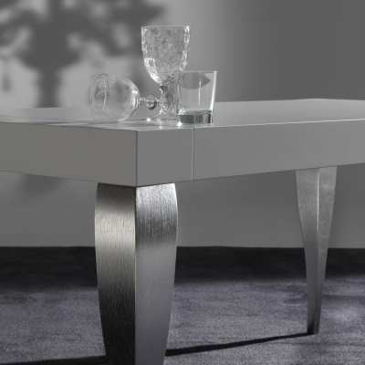 Modern Table Timoteo particular top and leg