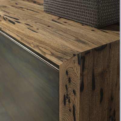 Madia in Briccole Twings 2 ante dettaglio legno angolo lato alto zoom